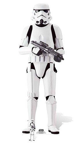 Imperial Stormtrooper Karton Ausschnitt, Mehrfarbig (Star Wars Karton Ausschnitte)