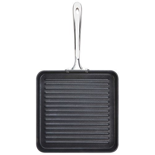 All-Clad d5 5-Ply Stainless-Steel 11 Inch Nonstick Square Grill Pan by All-Clad All Clad Square Pan