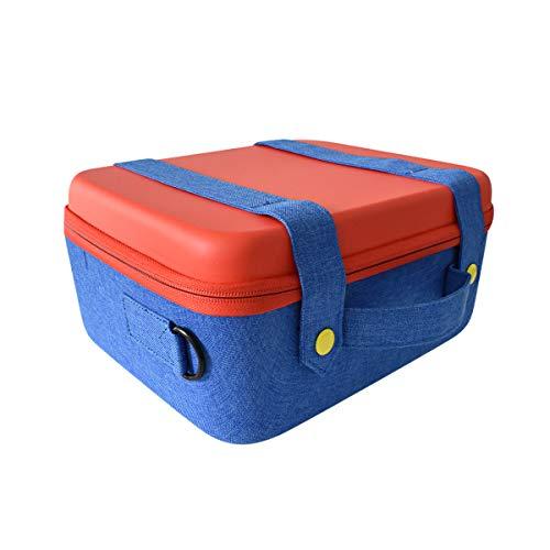 Turpow Reisetasche kompatibel mit Nintendo Switch System, süß und deluxe, schützende Hartschalen-Tragetasche für Nintendo Switch-Konsole und Zubehör -