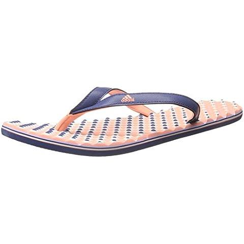 Adidas Performance Eezay Dots W Athletic sandalo, grigio / bianco / svasata, 5 M Us