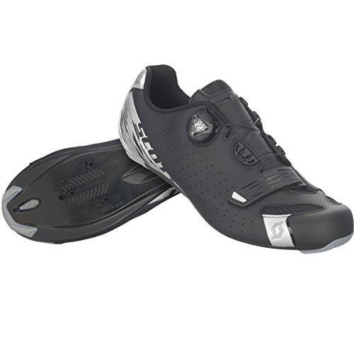 Scott Scott Road Comp Boa Rennrad Fahrrad Schuhe schwarz/Silber 2019: Größe: 45