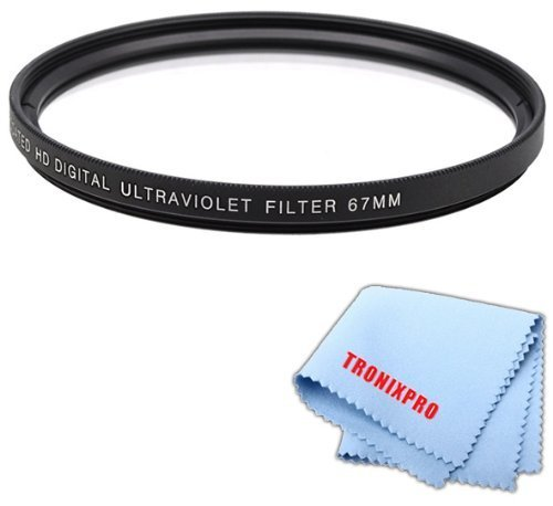 67mm Pro series Multi-Coated High Resolution Digital Ultraviolet Filter For Nikon AF-S NIKKOR 85mm f/1.8G Lens, Nikon AF-S VR Zoom-NIKKOR 70-300mm f/4.5-5.6G IF-ED,, Nikon AF-S NIKKOR 85mm f/1.8G Lens, Nikon AF-S VR Zoom-NIKKOR 70-300mm f/4.5-5.6G IF-ED, Nikon NIKKOR AF-S 70-200mm f/4G ED VR Telephoto Zoom Lens, Nikon 18-105mm f/3.5-5.6G ED VR AF-S DX Nikkor Autofocus Lens, Nikon AF-S NIKKOR 35mm f/1.4G Wide-Angle Lens, Nikon AF-S DX NIKKOR 18-140mm f/3.5-5.6G ED VR Lens, Nikon AF-S NIKKOR 28mm  available at amazon for Rs.1220