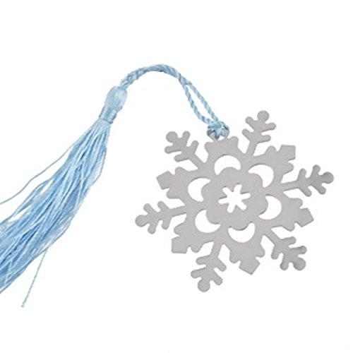 Lesezeichen Schneeflocke - mit entzückender Geschenksbox