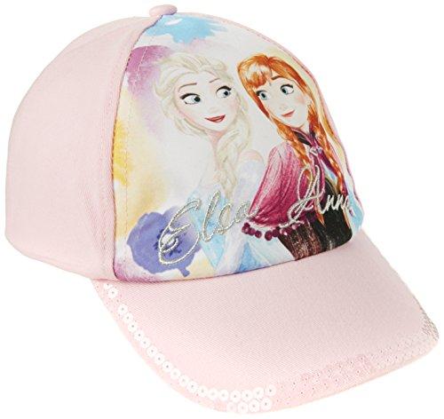 FABTASTICS Disney Die Eiskönigin Frozen Kinder 2er Set (Cap & Schal), Rosa, One size