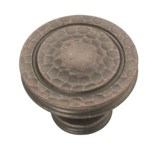 Hickory Hardware P3061-DAC 1.37 In. Mountain Lodge Dunkle Antique Copper Cabinet Knob - Antique Copper Knob