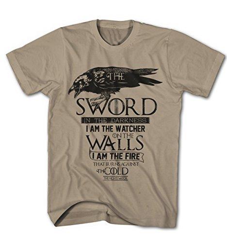 Herren T-Shirt Game of Thrones Die Nachtwache das Lied Serie TV