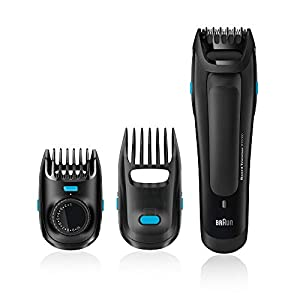Braun Beard Trimmer BT5050 High Precision for the Perfect Beard Style with 0.5 mm Step Sizes