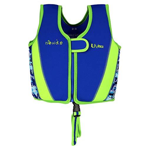 immweste aus Neopren, Jungen Mädchen Swimmen Lernen Jacke Badeanzug Bademode 1-8 Jahre ()