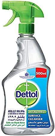 Dettol Surface Cleanser with Trigger Spray, 500 ml