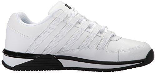 K-Swiss Herren Baxter Low-Top white-black (05444-102)