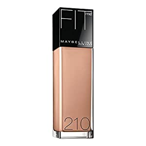Maybelline New York Fit Me! Foundation, 210 Sandy Beige, SPF 18, 1.0 Fluid Ounce by Maybeline New York