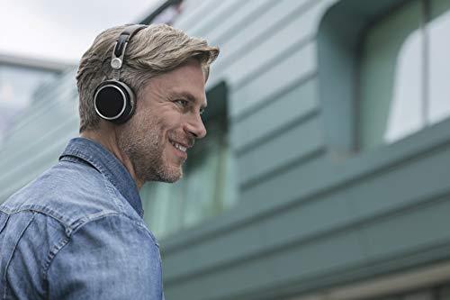 beyerdynamic Aventho wireless on-Ear-Kopfhörer mit Klang-Personalisierung in schwarz. 30 Stunden Akkulaufzeit, Bluetooth kabellos, MIY App, Mikrofon - 8
