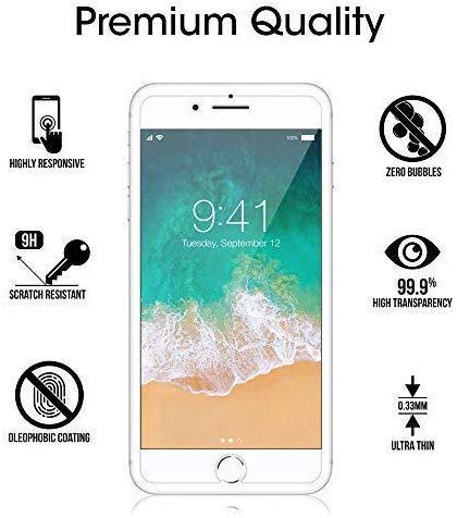 Ramcox Protector de Pantalla para iPod Touch 5th/6th Generation, Alta Sensible Vidrio Templado Protector de Pantalla… 2