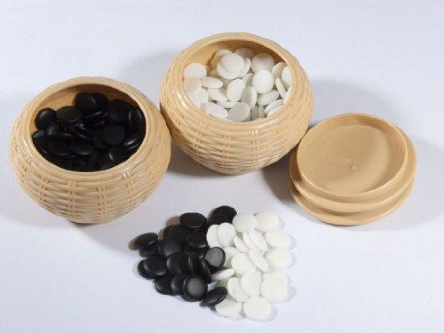 Go-Spiel: Yunzi-Steine, flach