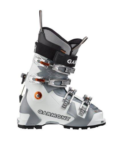 Garmont Frauen Glanz Thermo Ski-Boot, White/Blue Pearl (Alpine Ski Garmont)