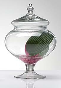 SANDRA Rich 360536Flacon en verre, 20x 10x 10cm, Transparent