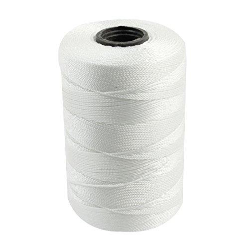 Handtasche Schuhe 3-Strang-Sew-Seil-Schnur Stitching 0,8mm Durchmesser Weiß (Schnur 3 Stränge)