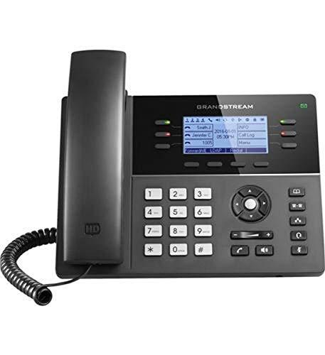 Oferta de Grandstream Networks GXP1760W - Teléfono (Teléfono DECT, Terminal con conexión por Cable, Altavoz, 2000 entradas, Identificador de Llamadas, Negro)