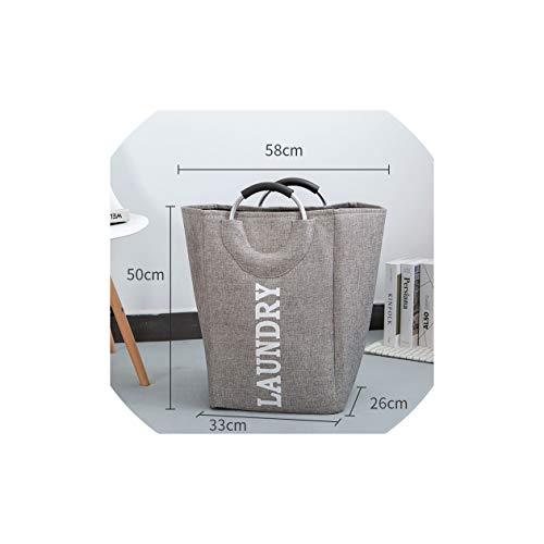 ts Wäschekörbe zusammenklappbarer Großer Hamper Faltbarer Beutel für schmutzige Kleidung Tasche Spielzeug-Speicher-Geschenk, 1 ()