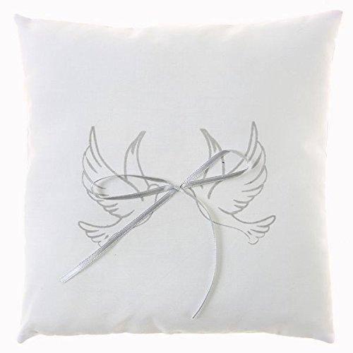 Cojín Blanco para alianzas (18 x 18 cm)