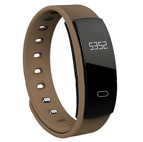 Activity Tracker, Armband Sport fitness Tracker, OLED Touch Screen IP67 Wasserdicht Pulsuhr Armbanduhr Schrittzähler Smart Armband Fitness Uhr Bluetooth Smartwatch Kompatibel für Android und IOS QS80