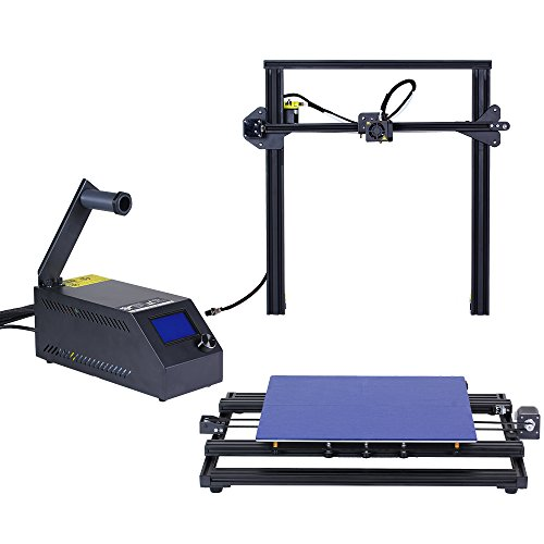 Comgrow Creality 3D Drucker CR-10 S4 Prusa i3 mit Dual Z Stab Schrauben 400x400x400mm - 3