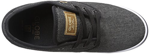 Globe Men's Motley Skateboarding Shoe, Black Woven, 12 M US Black Woven