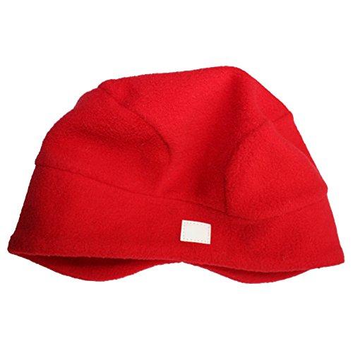 TICKET TO HEAVEN - Fleece-Mütze MIKA HOOD in rot Größe 48 (Kopfumfang 48)
