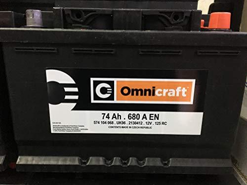 BATTERIA AUTO 74 AH Omnicraft
