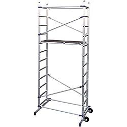 FACAL Clic - andamio (Mobile scaffolding, Aluminio, Aluminio, Azul, Italia, NFE 85-200)