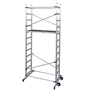 FACAL Clic – andamio (Mobile scaffolding, Aluminio, Aluminio, Azul, Italia, NFE 85-200)