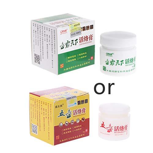 ZOUCY Balsam Salbe Kopfschmerzen Muskelkörper Arthritis Schmerzlinderung Massage Gesundheitswesen 15g - Weiße Vaseline Gelee