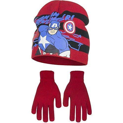 (Marvel Avengers Kinder/Jungen Captain America Winterset (54cm) (Rot))