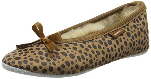 Pantofole Da Pastore Saga Lady Brown (leopard 43)