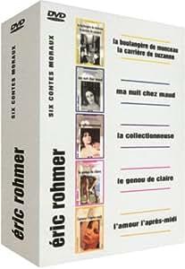 Eric Rohmer : Les 6 Contes Moraux - La Boulangère de Monceau / La Carrière de Suzanne / Ma nuit chez Maud / La Collectionneuse / Le Genou de Claire / L'Amour l'après-midi - Coffret 5 DVD