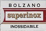 5 lames Bolzạno Superinox Inossidabile (1 paquet)