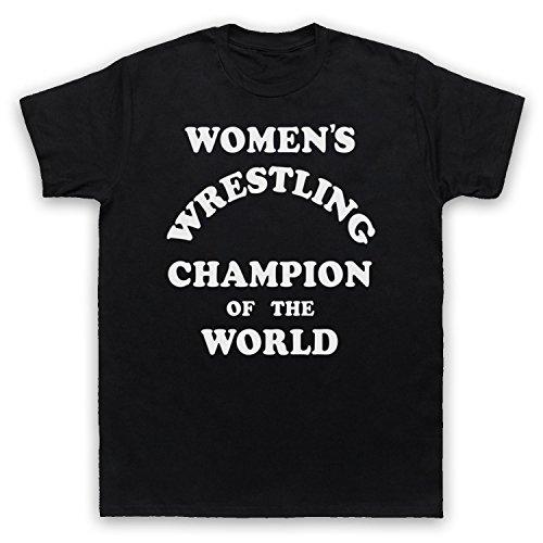 Women's Wrestling Champion Of The World Herren T-Shirt Schwarz