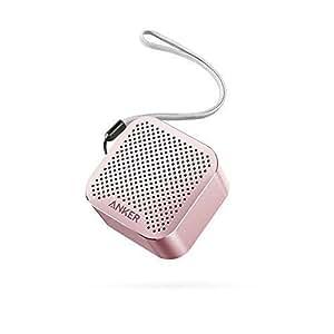 Anker SoundCore Nano Super Mini Bluetooth Lautsprecher Wireless mit Großen Sound und Mikrofon für iPhone, iPad, Samsung, Nexus, HTC, Laptops und weitere (Rosa)