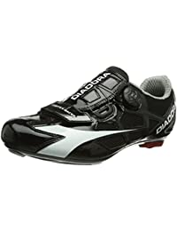 DiadoraGYM - Zapatos de Ciclismo de Carretera Unisex Adulto, Color Negro, Talla 40