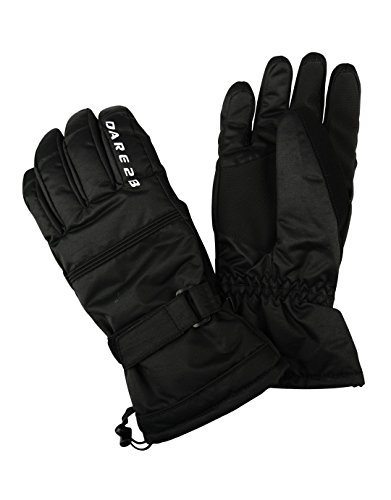 Dare 2b Herren Summon II Waterproof Insulated Ski Handschuhe, Schwarz, Large