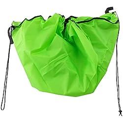 Wss - Large 150 cm Portable Kids Kids Play Mat Bag Bag Giocattoli Organizer Rug (Verde)