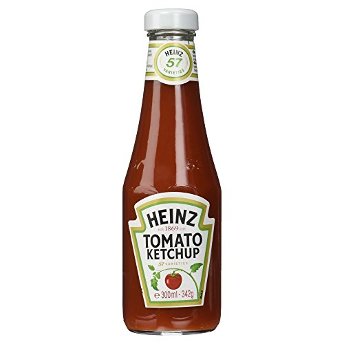 Heinz Tomato-Ketchup Glasflasche, 300 ml