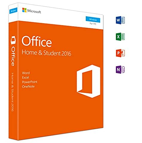 Microsoft Office Home and Student 2016 (Product Key Card ohne