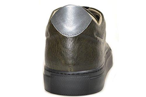 BERDINI , Baskets pour femme Vert - fango, acciaio, suola nera