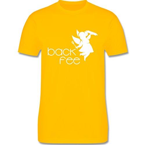 Küche - Back Fee dicke Fee - Herren Premium T-Shirt Gelb