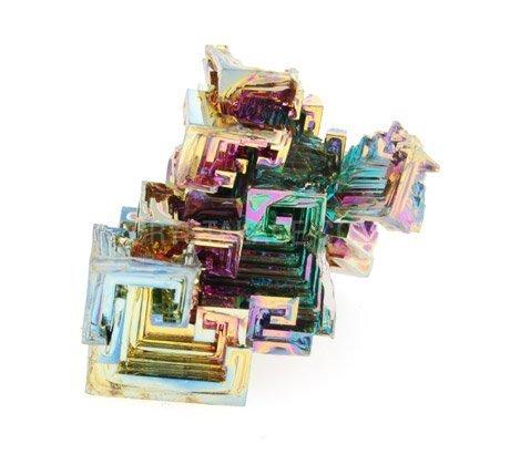Wismut Kristall- Probe Wismut - Medium