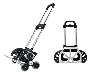 royi schwerlast 70 kg klappbar aluminium sackkarre handkarre industrie und hand trolley mit. Black Bedroom Furniture Sets. Home Design Ideas