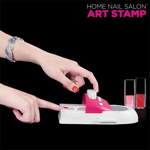 InnovaGoods - Máquina Decora Uñas Art Stamp