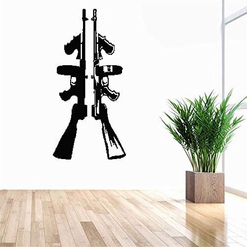 wandaufkleber baum foto Charakter Mafia Gangster Poster Tommy Gun für Kinderzimmer Schlafzimmer