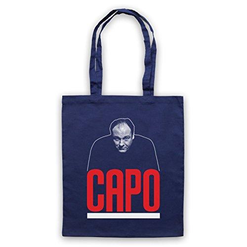 Ispirato Al Capo Soprano Non Ufficiale Delle Tasche Del Capo Blu Oltremare
